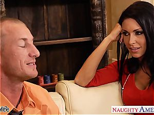 buxom sweetheart Jessica Jaymes in need of a fine boinking
