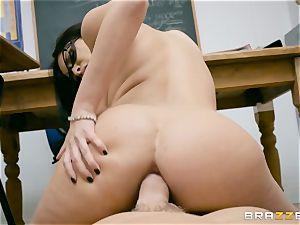 buttfuck jammed milf tutor Anissa Kate in class