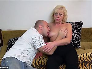 older grandma got unclothed and boned gonzo way