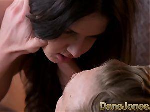 Dane Jones lovely Italian gal with ultra-cute udders