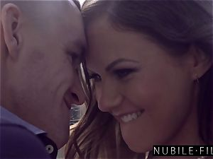 NubileFilms - Tina Kay Gets Her pussy plumbed S23:E28
