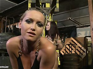 Kathia Nobili whip the tongue of sweetie doll