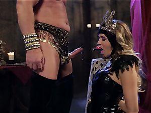 Mean goddess Jessica Drake in scorching boinking parody