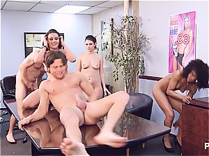 Getting ultra-kinky in the office part 6