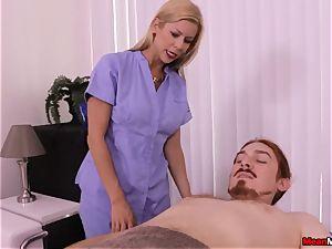 blonde mummy throbbing prick Having Some painful climax