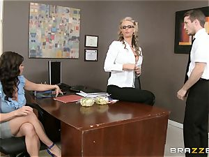 mummy 3some with Phoenix Marie and Kendra fervor