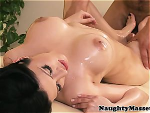 mexican cutie kneaded all over before from the rear porking