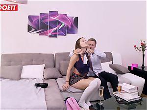LETSDOEIT - Lana Rhoades banged rigid At porno Academie