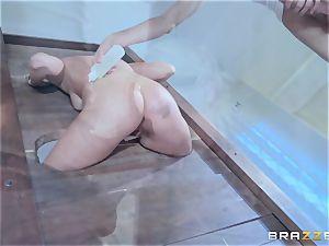 Kate England inhaling off Danny D