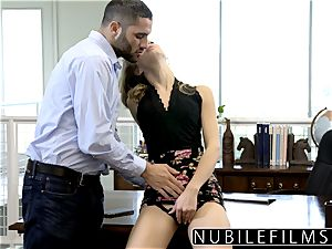 NubileFilms - Office whore boned Till She splatters