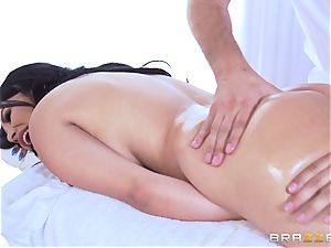 Missy Martinez oiled up and ravaged