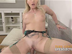 Kathia Nobili - chesty towheaded pleased With fuck-stick