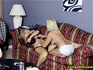 two kinky chicks with toys