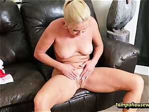 The cougar teacher trains the schoolgirl