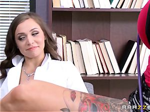Tiffany star seduced by inked doctor Anna Bell Peaks