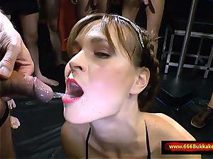 yam-sized urinating group sex - 666Bukkake