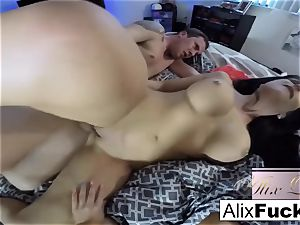 torrid amateur three way with Alix Lynx and Jaclyn Taylor
