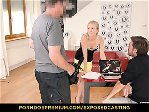 unsheathed casting - bootylicious honey hook-up mastery test in casting