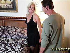 Evan's Anniversary hook-up with Ms Paris Rose