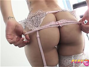 anal threesome Gabriella Paltrova Madelyn Monroe