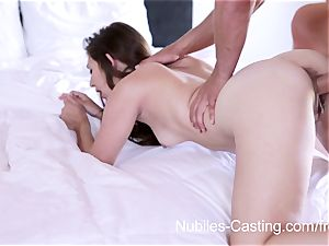 Nubiles casting - xxx pornography audition for beginner