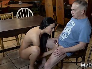 aged chick vid hard-core Can you trust your girlpatron leaving her alone with your dad?