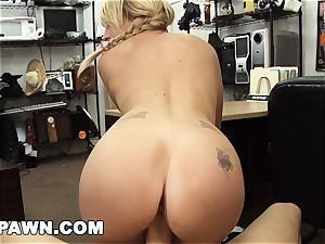 xxx PAWN - Things Get freaky When Valerie white shows Up