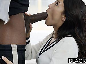 BLACKED Megan Rains first experience With gigantic black manhood Part 1