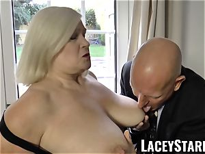 LACEYSTARR - naughtiest grannie analled before jizz flow