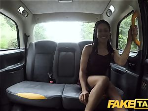 fake cab prompt drilling and internal ejaculation for peachy ass