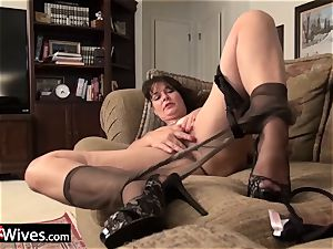 USAwives grannies loving adult toys compilation