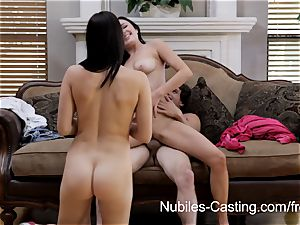 Nubiles audition - She wants this job bad!
