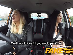 fake Driving school girly-girl hook-up with hot Australian