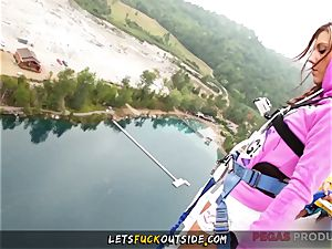 Lane Sisters Outdoor three way with Bungee professor