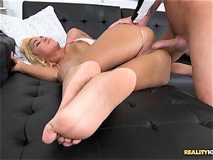 splendid blonde Chanel Collins gets horny