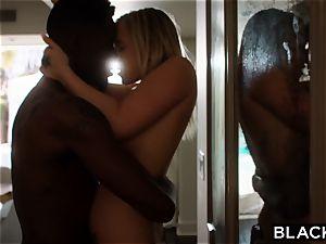 BLACKED torrid blondie Secretly plumbs Her roommates bf