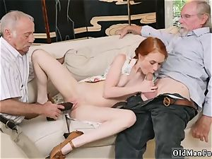 internal cumshot older meaty grannie and two guy plumb youthfull girl Online hook-up