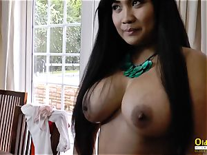 OldNannY Lacey Starr and Polynesian sapphic