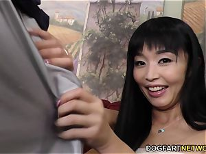 Marica Hase big black cock rectal with Mandingo