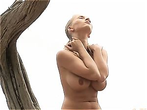 Chiquita got an inverted nipple