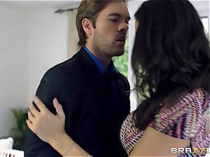 ultra-kinky wifey sensual Jane ravages her hubbies colleague