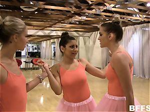Nina North g/g bullying with Kenna James