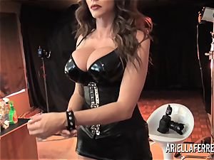 Behind the sequences erotic shoot with Ariella Ferrera